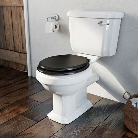 black square toilet seat. Dulwich close coupled toilet with wooden seat black pan  connector Best 25 Wooden seats ideas on Pinterest Composting