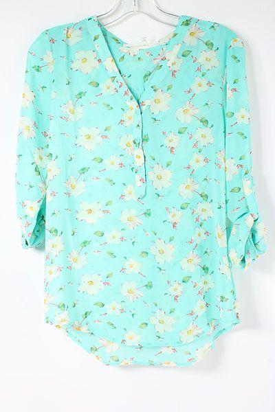 Blossom Chiffon Shirt