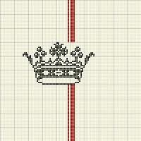 couronne sur cahier