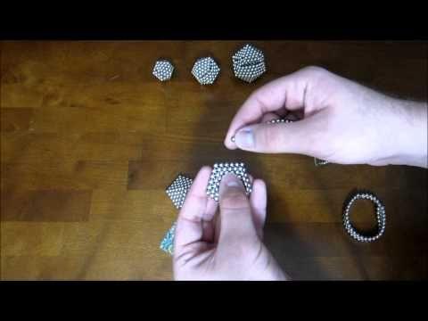 Tutorial: Rigid Icosahedron (Zen Magnets) - YouTube