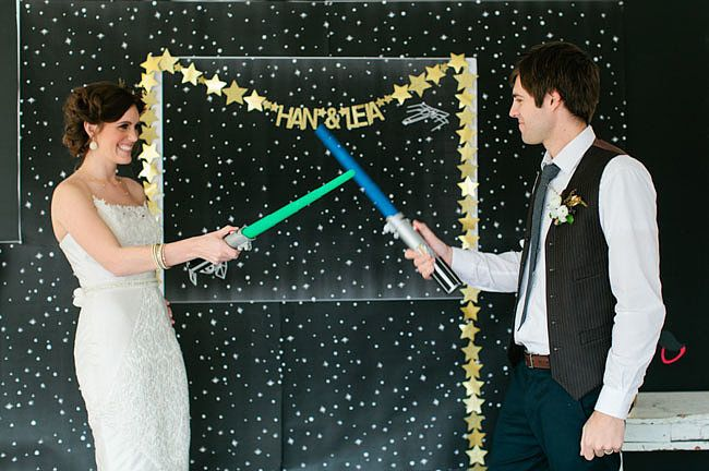 Everything You Need to Pull Off the Best Star Wars Wedding Ever