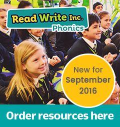 Ruth Miskin Training - Read Write Inc. - Home