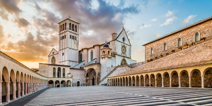 Franciscan path between Tuscany and Umbria regions - St. Francis Art