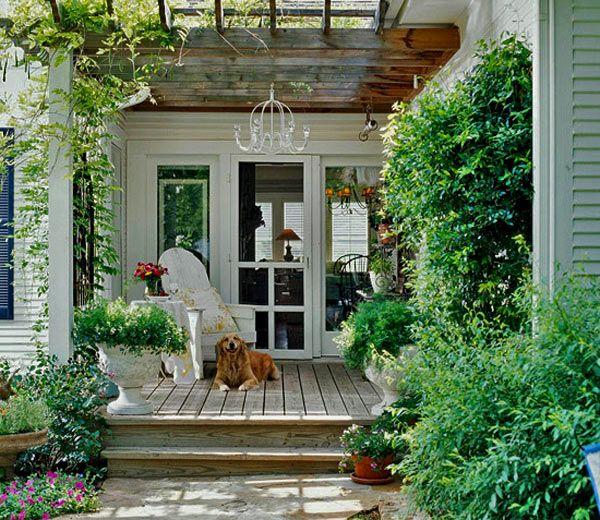 20 прекрасных фото-идей по дизайну красивых террас  Открытая терраса около домика — моя мечта. Собираемся в этом году пристроить такую к своему дачному дому и я излазила весь интернет в поиске идей. В…