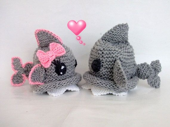 0531e5b2f11 Shark hat -Girl or boy-Knitting Baby Hat - for Baby or Toddler-Gray baby hat-newborns  knit boy hat