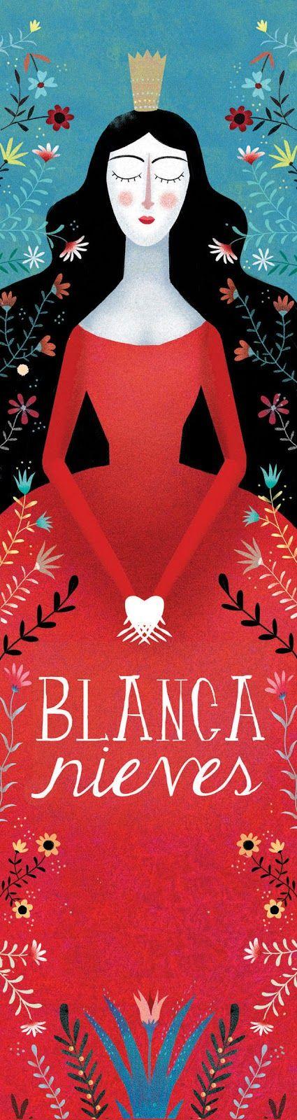 Mariana Ruiz Johnson Illustrations: Snow White, Unaluna Publisher, Buenos Aires, 2014