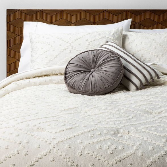 Olympia Clipped Comforter Set Opalhouse In 2020 Comforter Sets Target Comforter Comforter Sets Boho