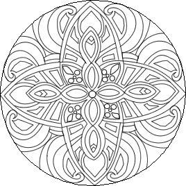 difficult mandala coloring pages click mandala to begin free online mandala coloring therapy