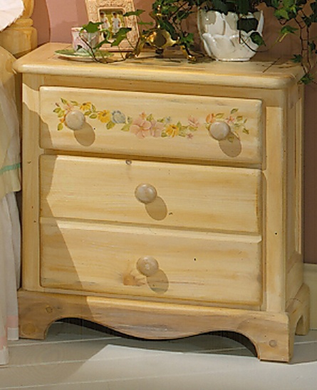 Thefurniture Com: THE FURNITURE :: Solid Pine Two Drawers Nightstand