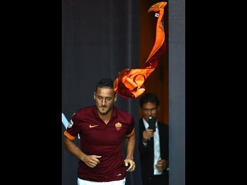 HIGHLIGHTS: AS Roma Team Presentation I 8/19/14 I AS Roma vs Fenerbahce 3-3 in SLOW MO - YouTube