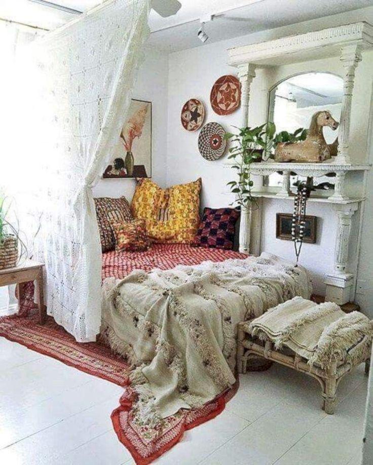 Pinterest & 40 Brilliant Bohemian Bedroom Design Ideas   Quick Saves ...