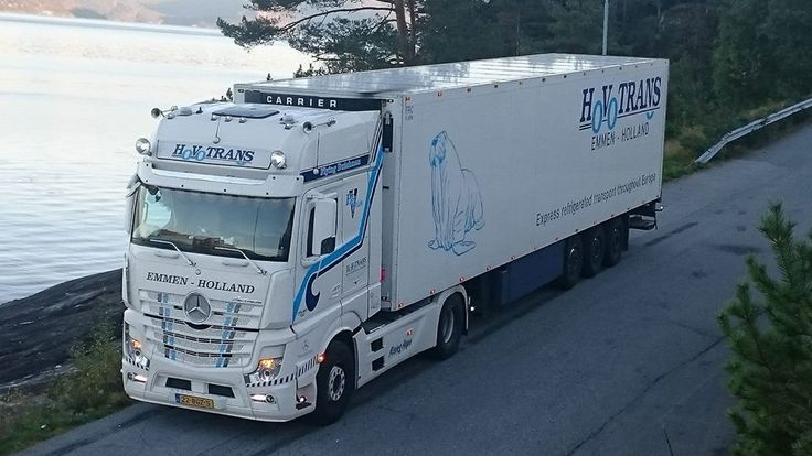 Actros MP4 of Hovotrans