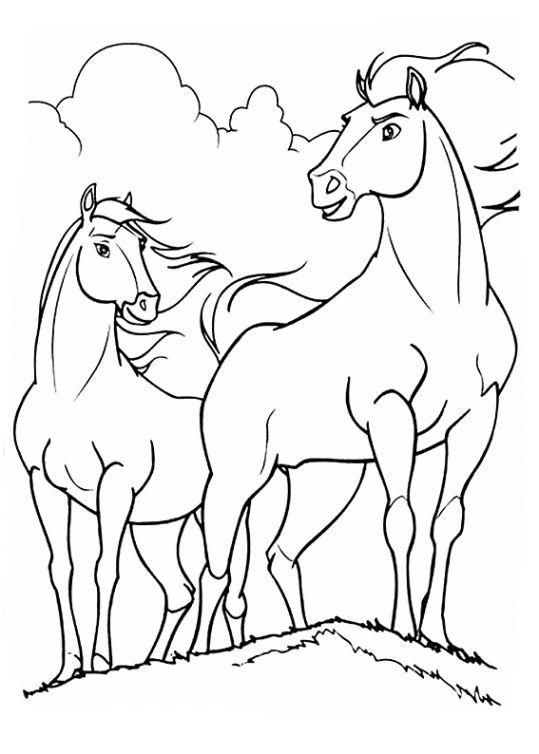 Ausmalbilder Spirit Lucky Disney 1ausmalbilder Com Malvorlagen Pferde Disney Malvorlagen Pferde Bilder Zum Ausmalen