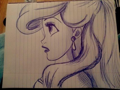 Tumblr Drawings Disney Tinkerbell | fashionplaceface ...