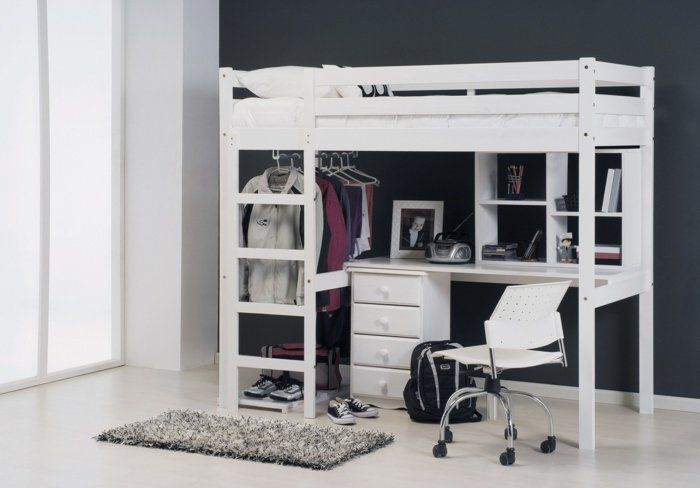 le lit mezzanine ou le lit superspos quelle variante choisir mezzanine design et ikea. Black Bedroom Furniture Sets. Home Design Ideas
