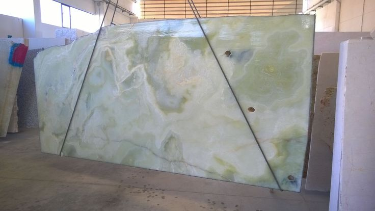 Luxury GREEN ONYX: stunning material for interior application. It speaks for itself.