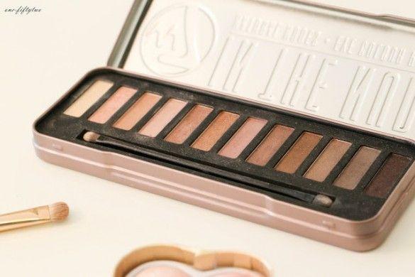 W7 In The Nudes Palette, Lidschattenpalette, Dupe Naked Palette, Eyeshadows