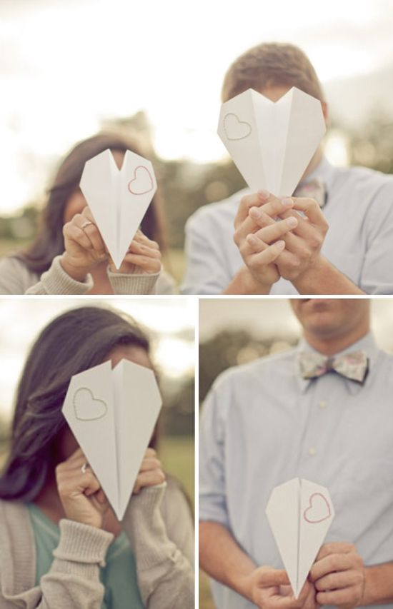 Paper Planes ✈ Destination Wedding Inspiration