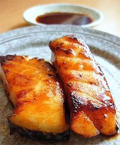 Teriyaki Grilled Cod recipe