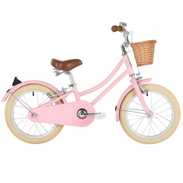 BREEP - Bobbin Gingersnap 16 inch meisjes fiets Blossom Pink