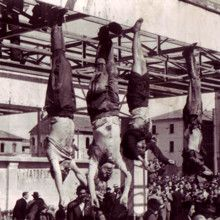 Which of country leaders ended like that? Benito Mussolini.