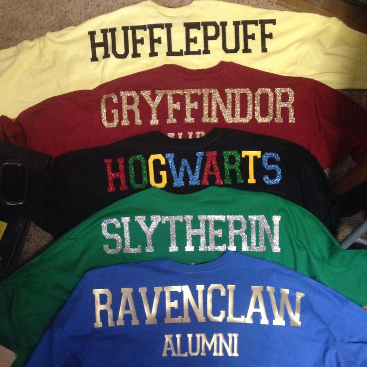 Harry Potter group shirts