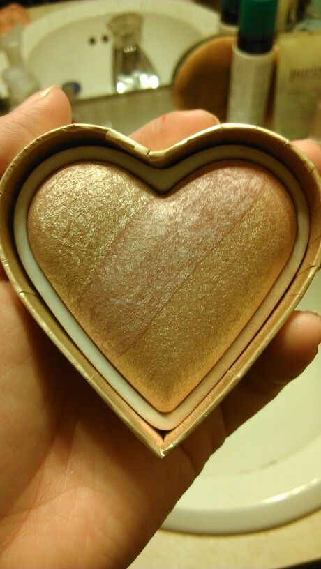 Too Faced sweet heart blush, used a handfull of times, sanitized, $20 shipped