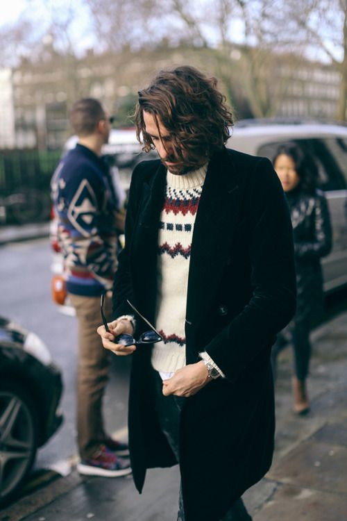 Men's Sweater Inspiration I recently bought my... | MenStyle1- Men's Style Blog