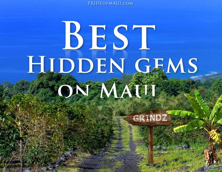 Find out the best local places to eat on Maui.
