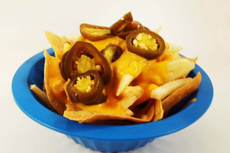 Nachos especiales de Bongo's Burger