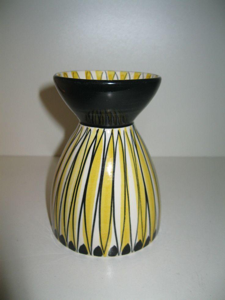 Vase Norway Stavangerflint, Mid Century 50s