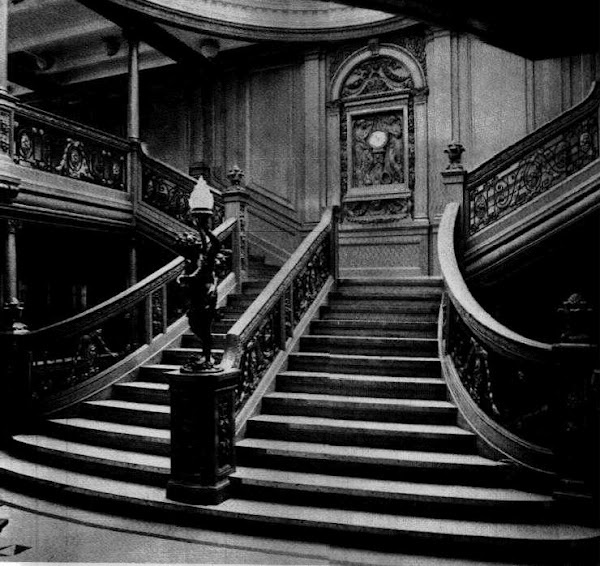 1st Class Grand Staircase, Titanic