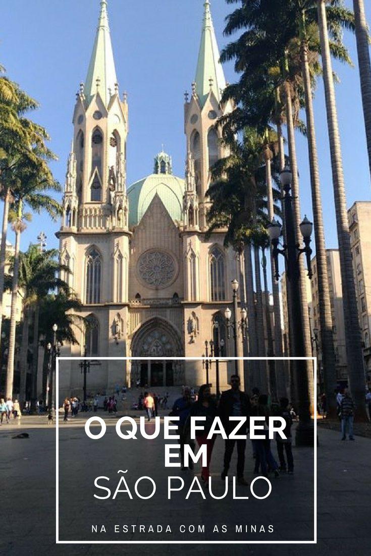 O que fazer em São Paulo - Relato de 6 dias + Dicas - Na Estrada com as Minas  SP, Mulheres Viajantes, Mulheres que viajam sozinhas, blogs de viagem, blog, viajar, viagens, amigas, road trip com as amigas, Catedral da Sé