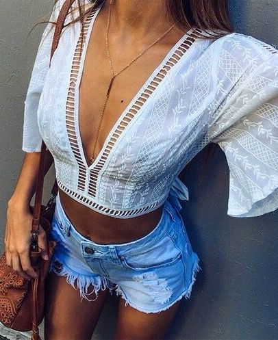 14a178ef467 The Definite Guide to Summer Outfits  55 Trending Outfits to Copy Right  NowWachabuy