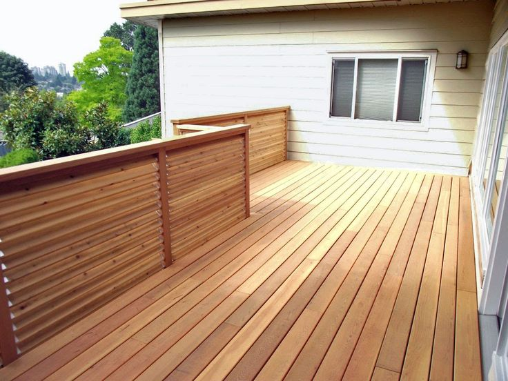 Cedar Deck | Cedar Deck Designs