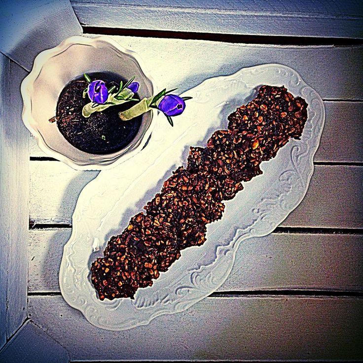 Prawie Perfekcyjna Pani Domu: Śliwkowe ciastka owsiane