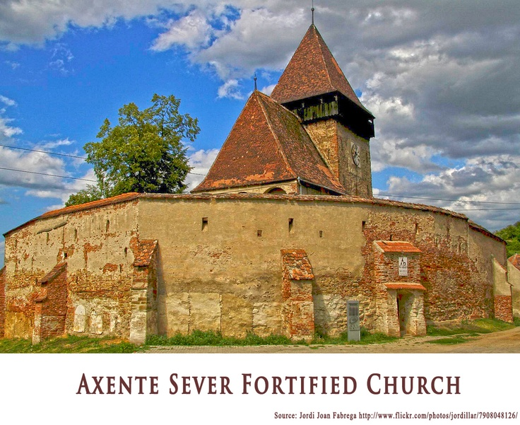 AXENTE SEVER FORTIFIED CHURCH  https://www.facebook.com/FromTransylvaniaWithLove