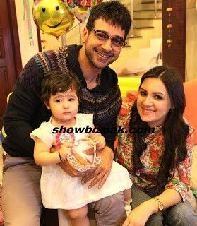 Faisal qureshi with his family ....great pakistani actor.