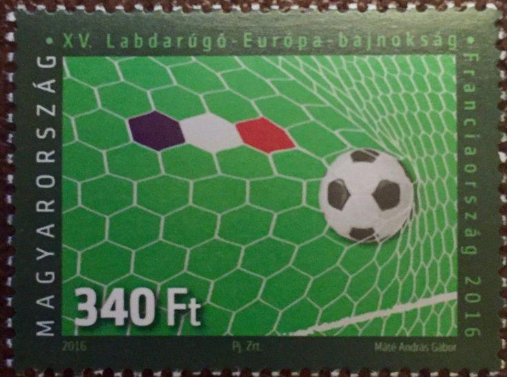 #4386 Hungary - 2016 European Soccer Championships, France (MNH)