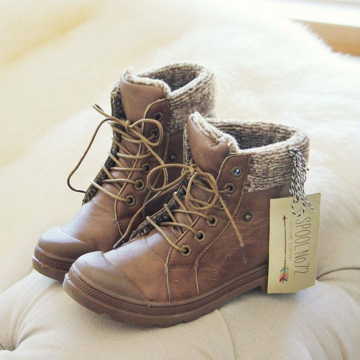 Cedar Hiker Booties, Cozy Booties from Spool No.72. | Spool No.72