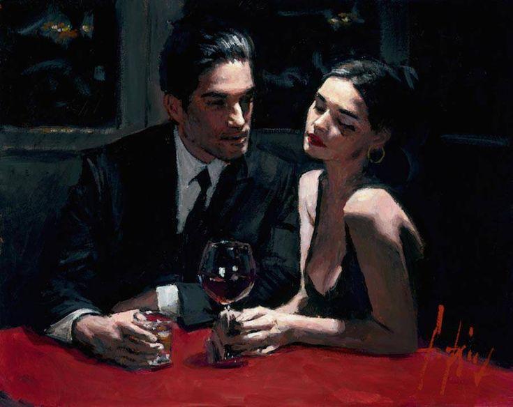 Romantic Encounters Paintings by Fabian Perez – Fubiz Media