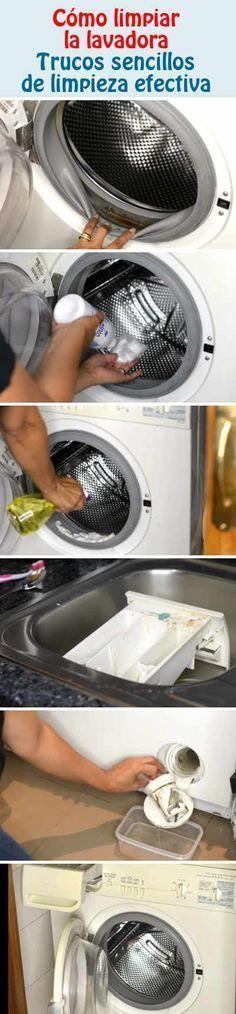 Сómo limpiar la lavadora. Trucos sencillos de limpieza efectiva.