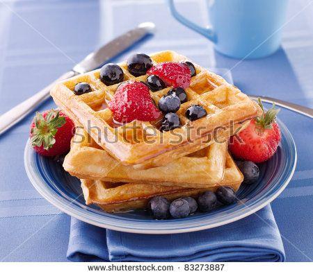 3 Receitas Saudáveis de Waffles – Manias de uma Dietista