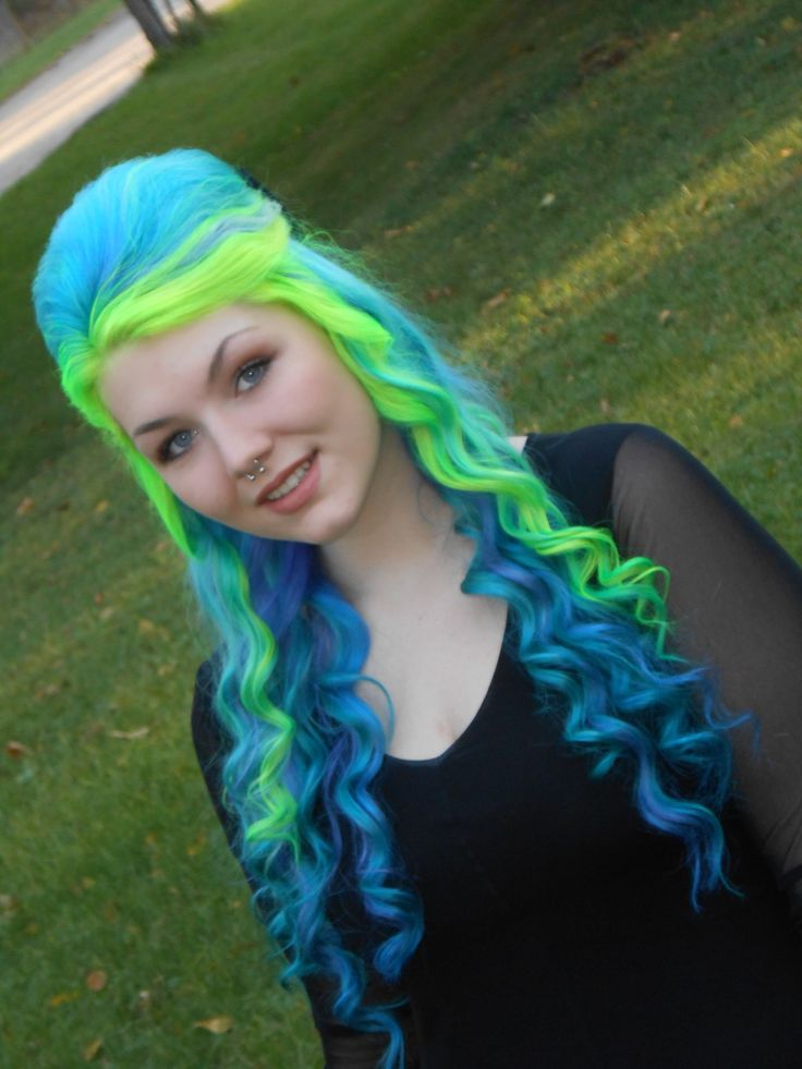 1000 Images About Colorful Hair On Pinterest Its Always