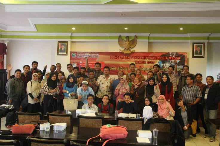 Blogger Malang dengan Dinas Komunikasi dan Informasi Kota Malang