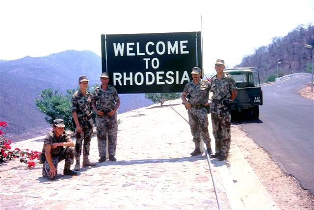 PICTURE GALLERIES | South African Police in Rhodesia |
