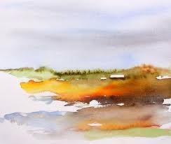 watercolor . art . landscape