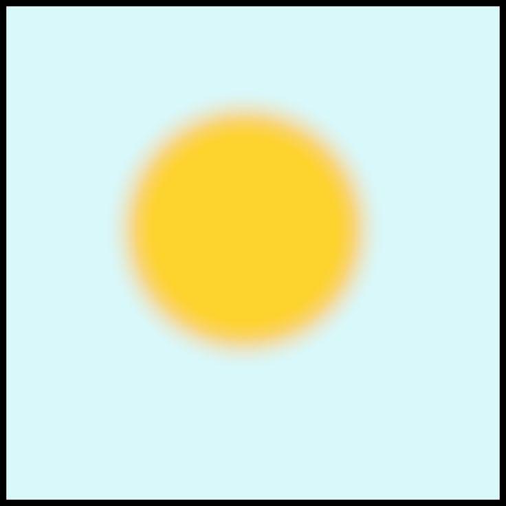 Weerkaartjes - zonnig