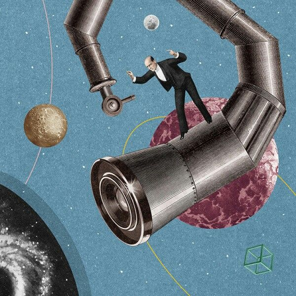 Colombian illustratorRandy Moracreates surreal and strangely mesmerizing collages of fantasy worlds and scenarios.Mora incorporateselements of science fiction and Dadaism in his paintings which overflow with wild imagination and abandon, and mostly revolve around the human anatomy and machines.