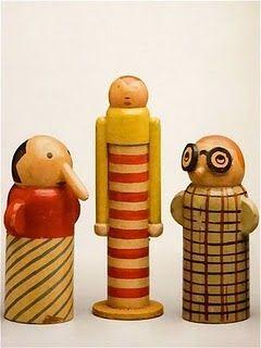 Minka Podhajska- Vintage toys 1930